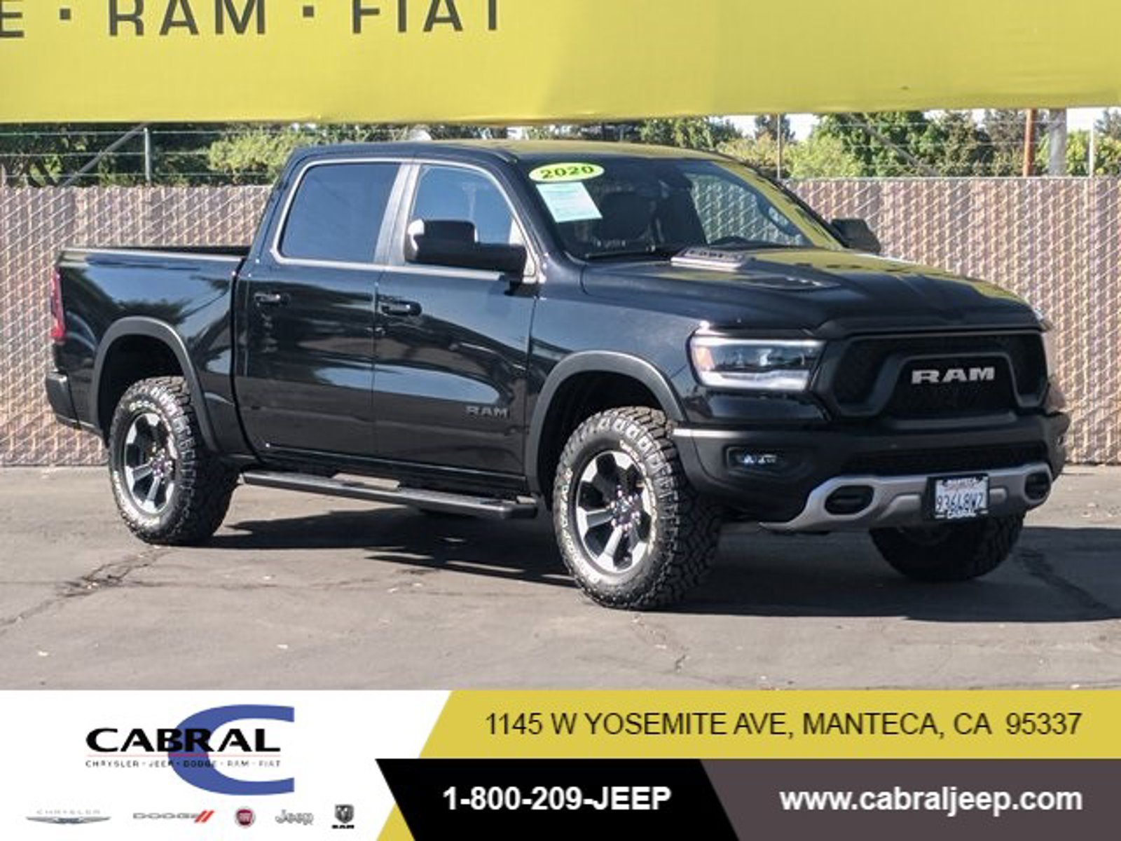 2020 Ram 1500 Rebel Rebel 4x4 Crew Cab 5'7″ Box Regular Unleaded V-8 5.7 L/345 [2]