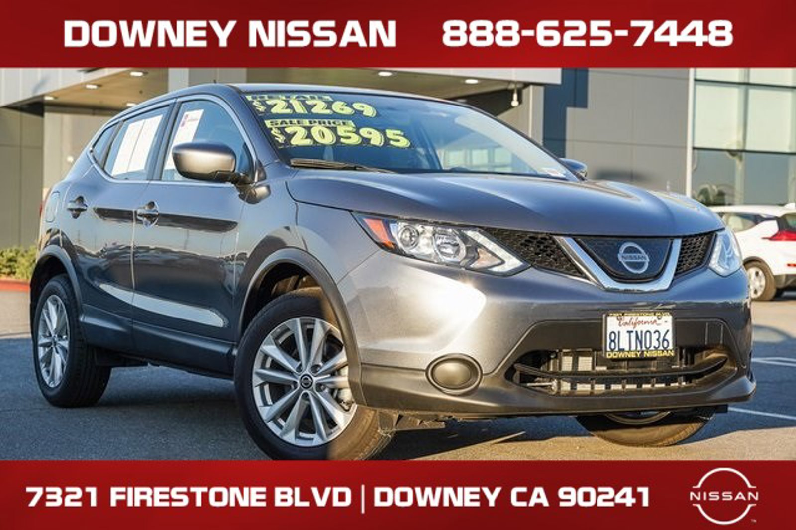 2019 Nissan Rogue Sport S FWD S Regular Unleaded I-4 2.0 L/122 [1]