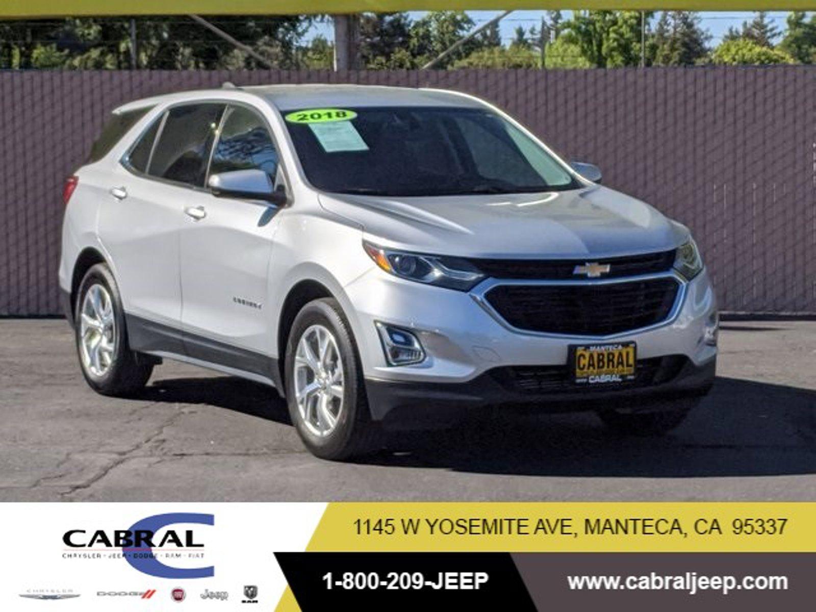2018 Chevrolet Equinox LT FWD 4dr LT w/2LT Turbocharged Gas I4 2.0L/ [1]