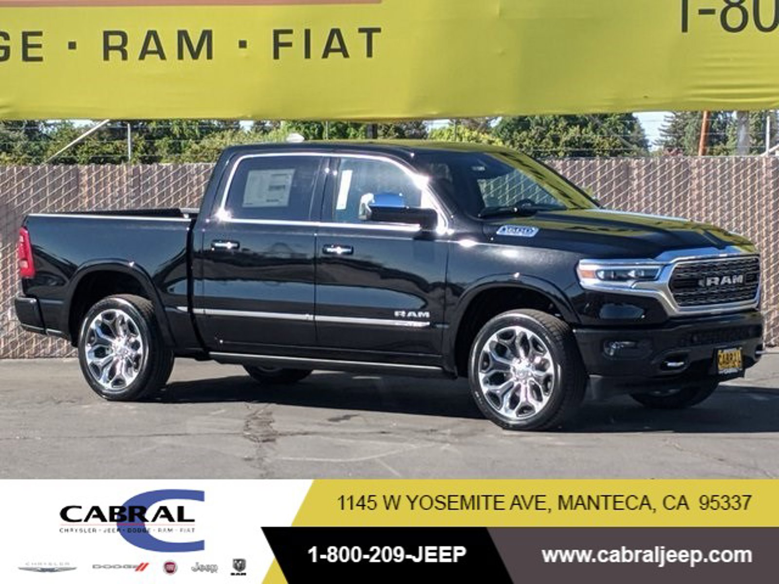 2020 Ram 1500 Limited Limited 4x4 Crew Cab 5'7″ Box Regular Unleaded V-8 5.7 L/345 [19]
