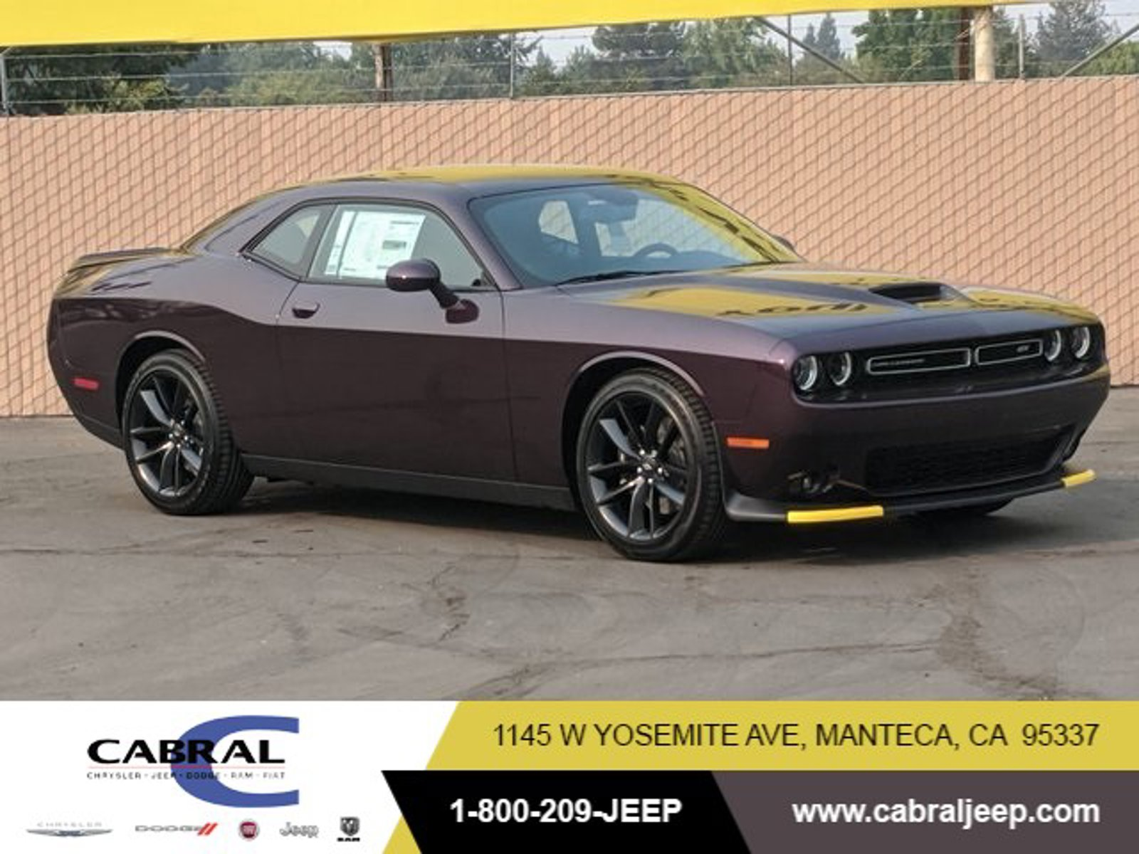 2020 Dodge Challenger GT GT RWD Regular Unleaded V-6 3.6 L/220 [1]