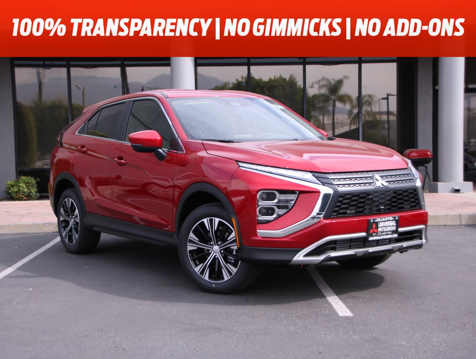 2022 Mitsubishi Eclipse Cross SE SE S-AWC Intercooled Turbo Regular Unleaded I-4 1.5 L/91 [10]