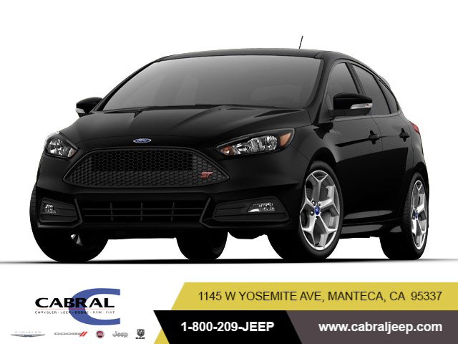 2017 Ford Focus ST ST Hatch Intercooled Turbo Premium Unleaded I-4 2.0 L/122 [2]