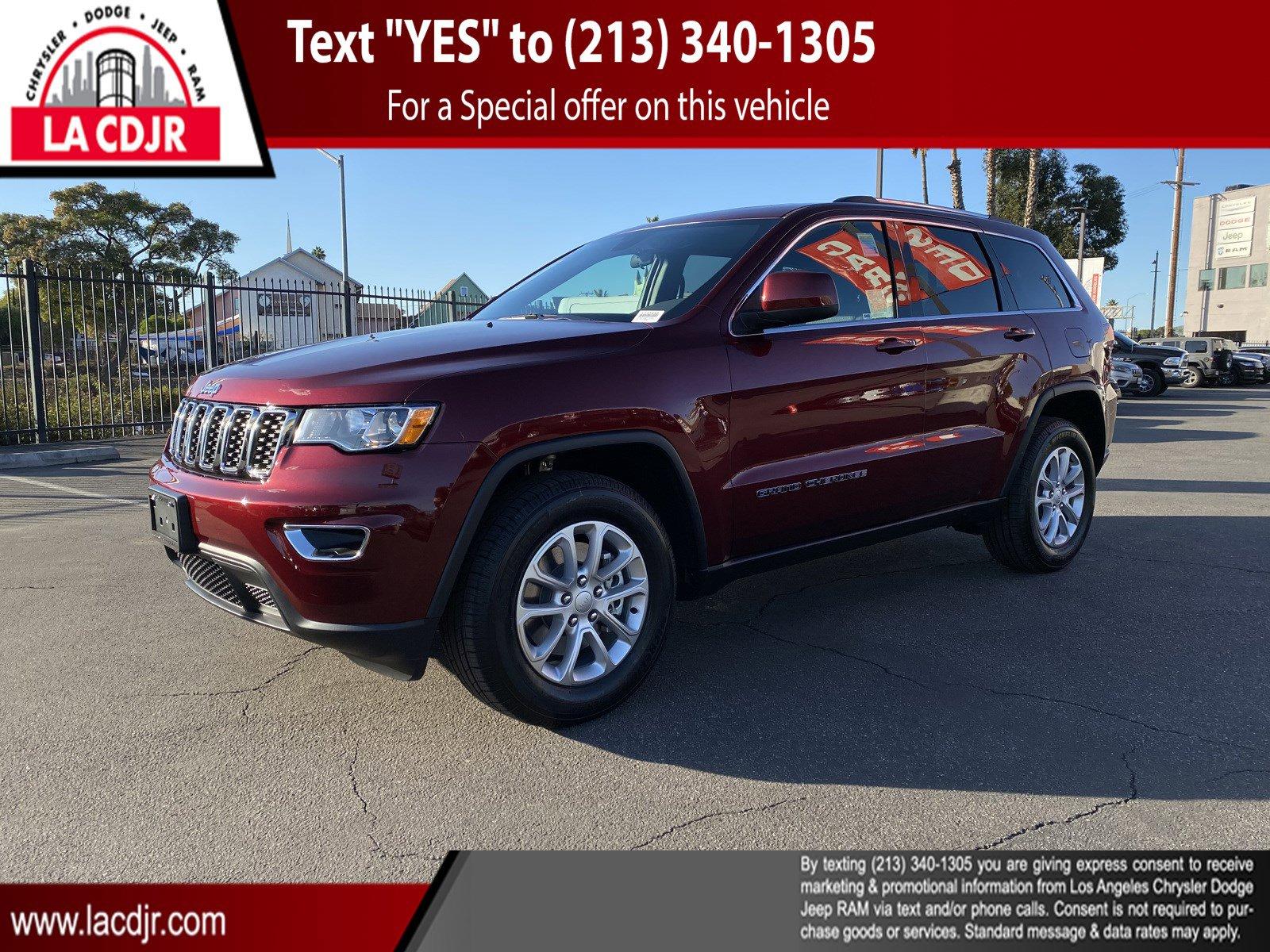 2021 Jeep Grand Cherokee Laredo E Laredo E 4x2 Regular Unleaded V-6 3.6 L/220 [14]