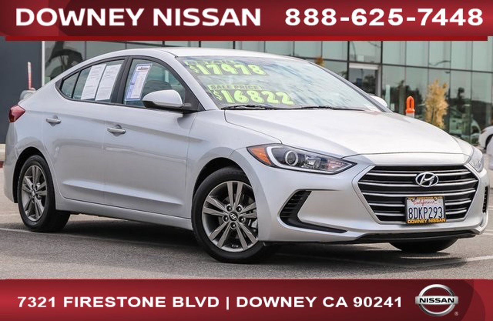 2018 Hyundai Elantra SEL SEL 2.0L Auto (Alabama) Regular Unleaded I-4 2.0 L/122 [1]
