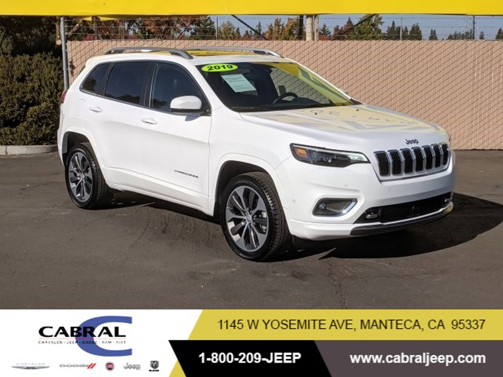 2019 Jeep Cherokee Overland Overland 4x4 Regular Unleaded V-6 3.2 L/198 [2]