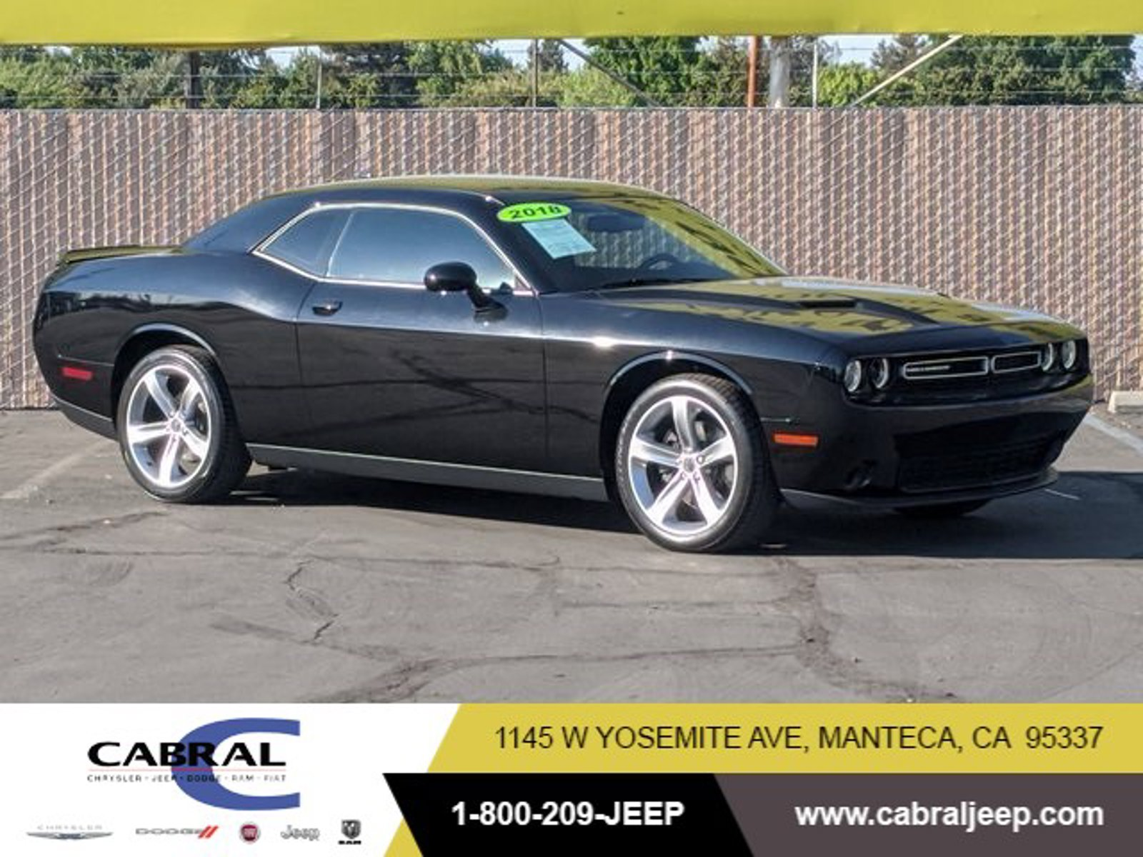2018 Dodge Challenger SXT SXT RWD Regular Unleaded V-6 3.6 L/220 [0]