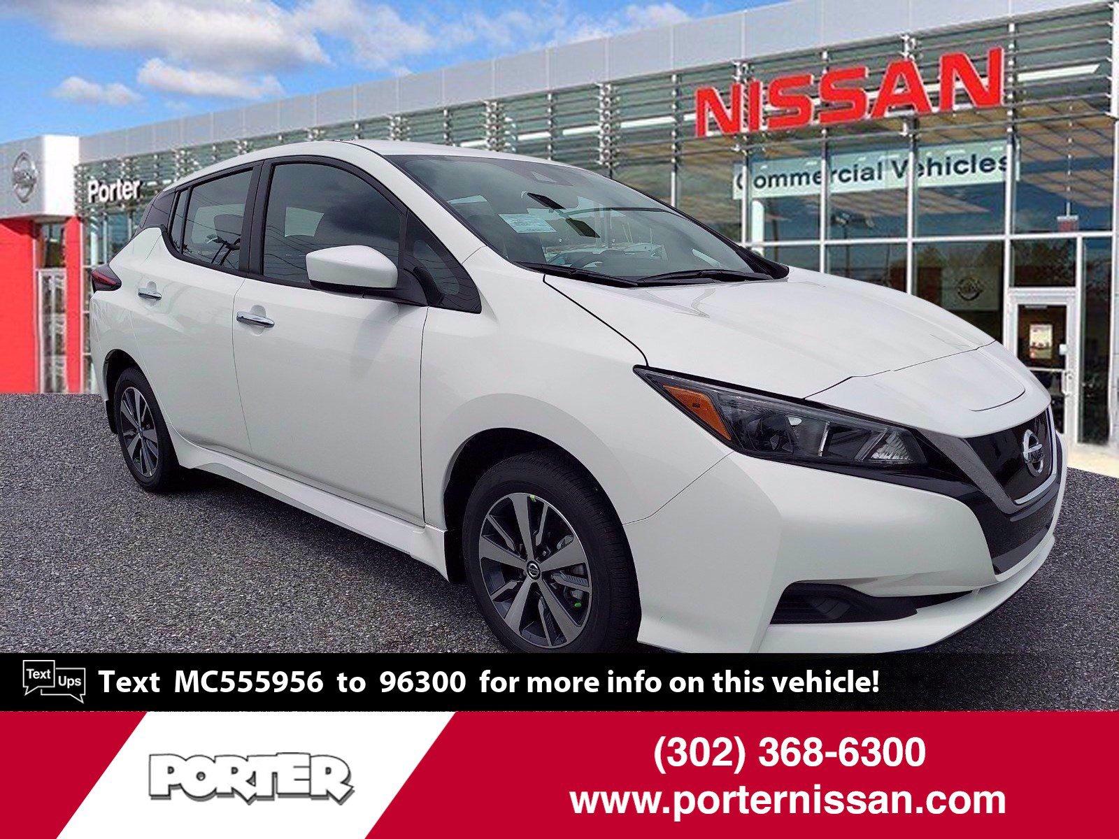 2021 Nissan LEAF S PLUS S PLUS Hatchback Electric [0]
