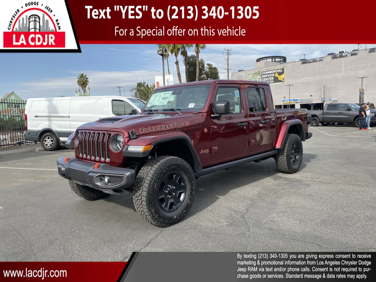 2021 Jeep Gladiator Mojave Mojave 4x4 Regular Unleaded V-6 3.6 L/220 [13]