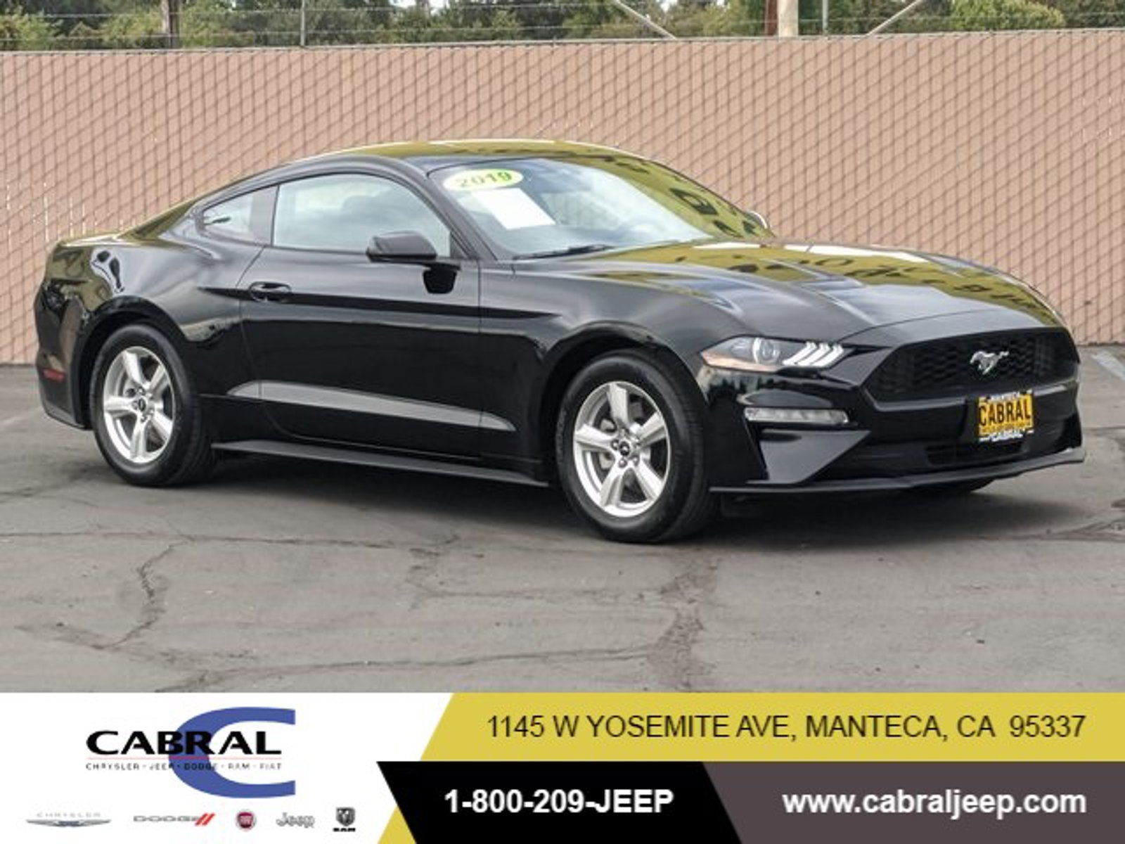 2019 Ford Mustang EcoBoost EcoBoost Fastback Intercooled Turbo Premium Unleaded I-4 2.3 L/140 [3]