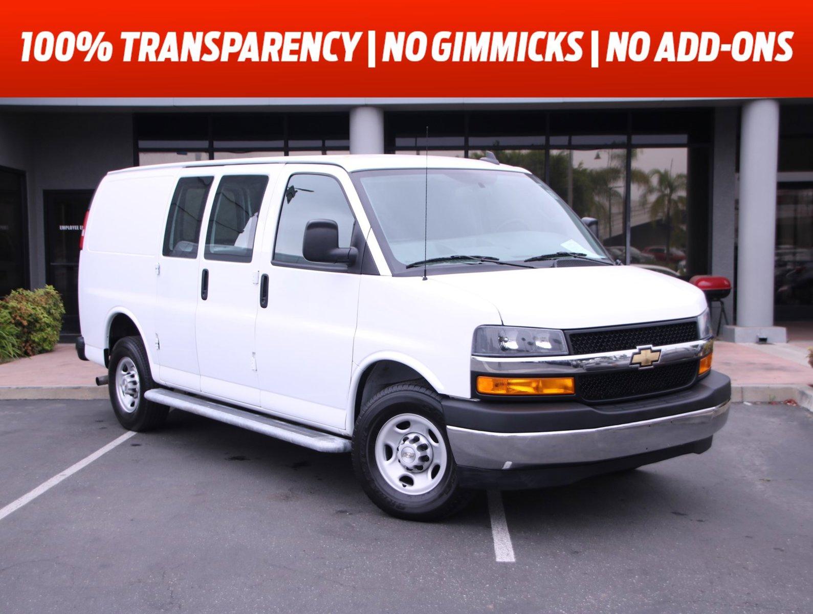 "2020 Chevrolet Express Cargo Van RWD 2500 135"" Gas/Ethanol V8 6.0L/364 [8]"