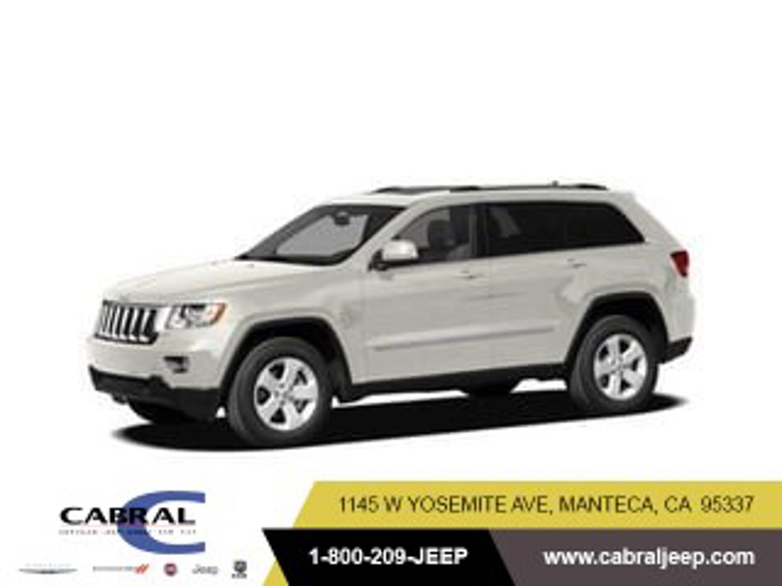 2011 Jeep Grand Cherokee Limited 4WD 4dr Limited Gas V8 5.7L/345 [8]