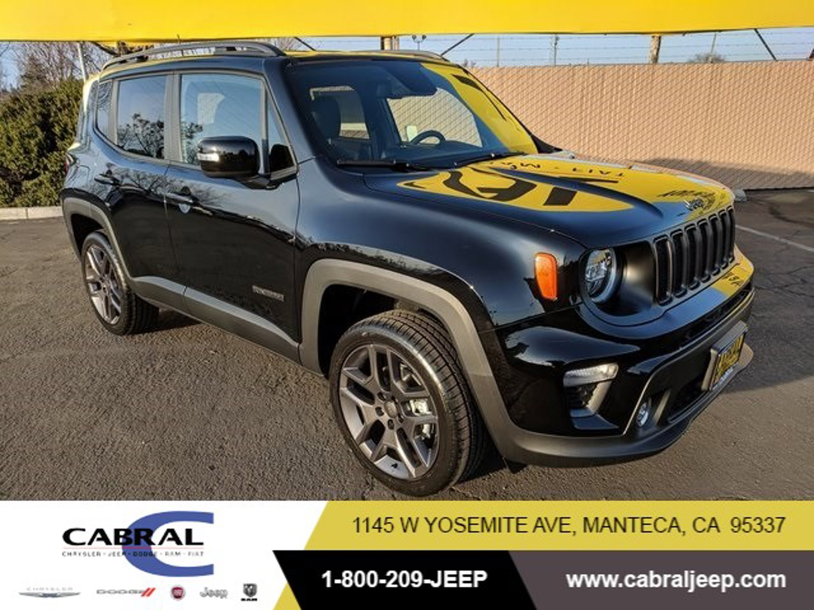 2020 Jeep Renegade High Altitude High Altitude 4x4 Intercooled Turbo Premium Unleaded I-4 1.3 L/81 [1]