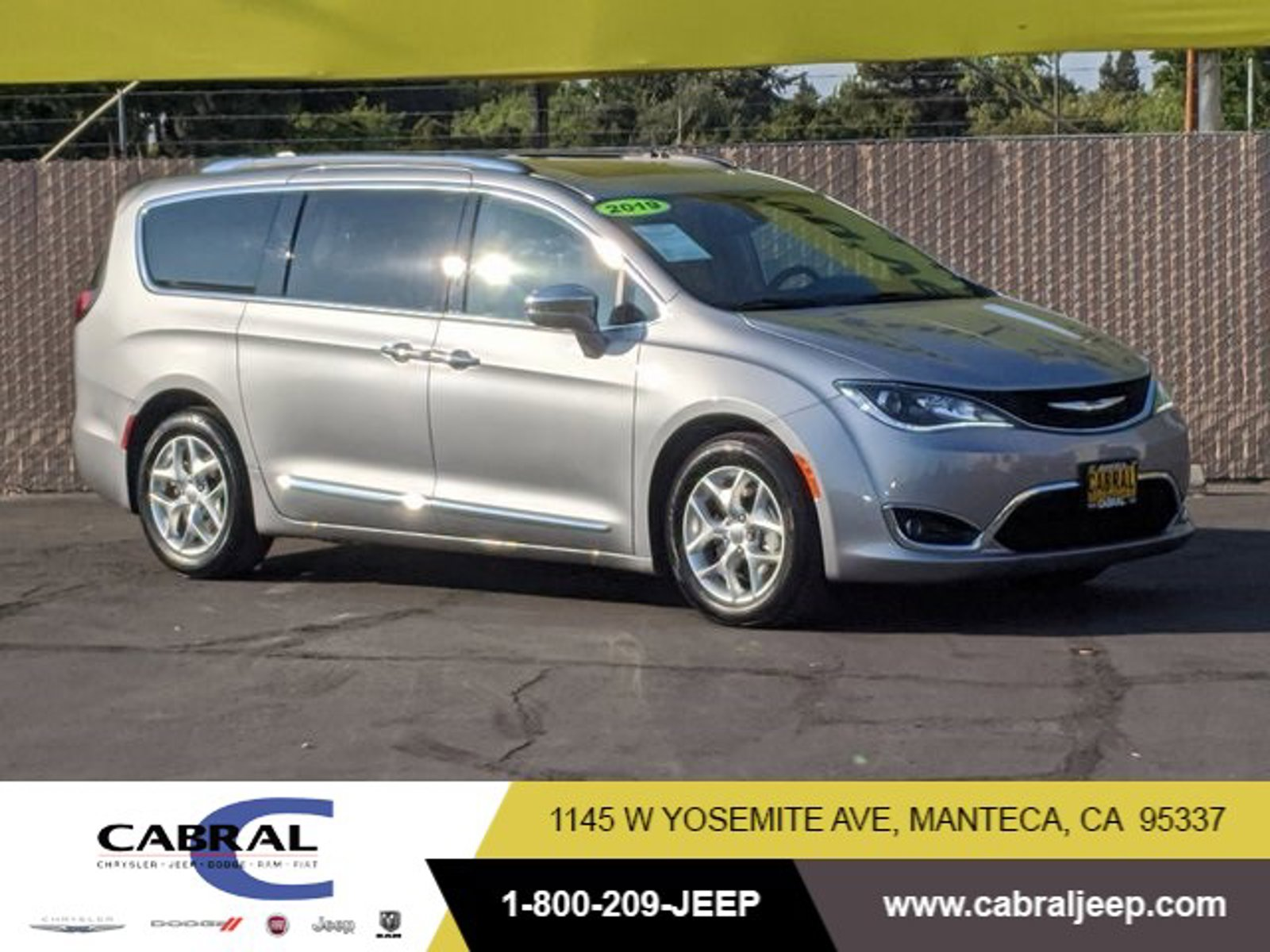 2019 Chrysler Pacifica Limited Limited FWD Regular Unleaded V-6 3.6 L/220 [3]