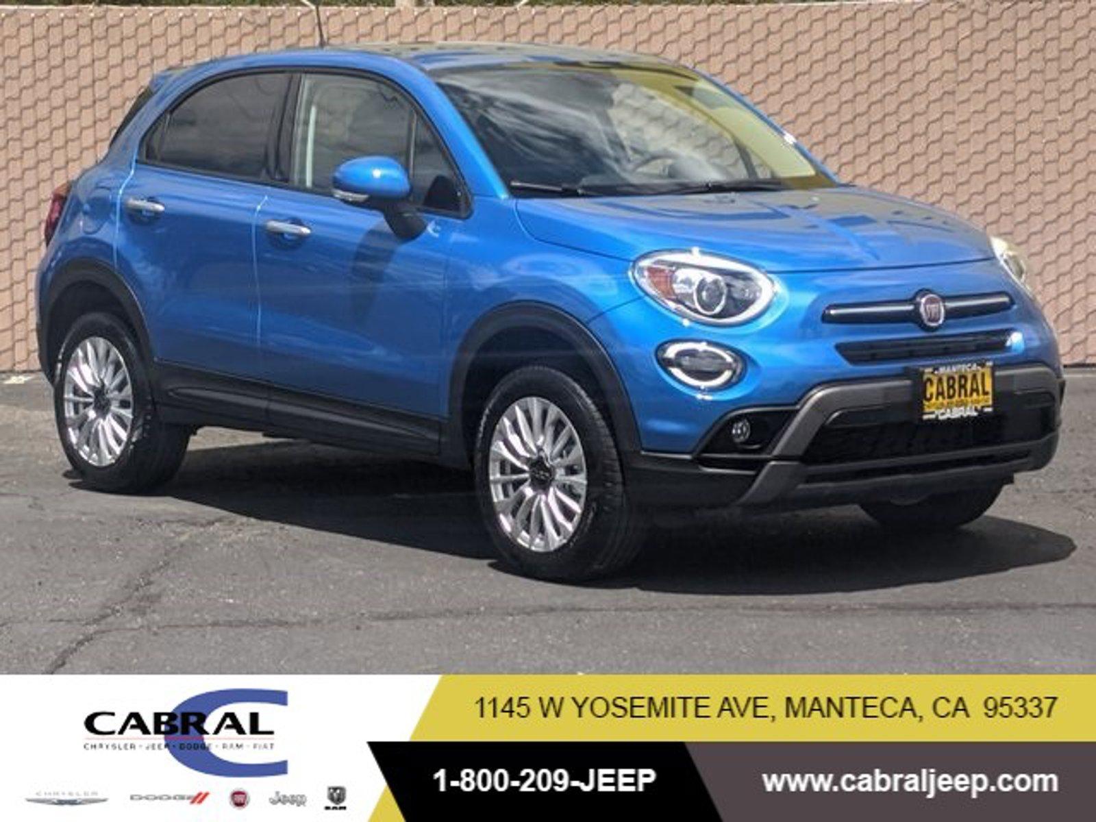 2020 FIAT 500X Trekking Trekking AWD Turbo Premium Unleaded I-4 1.3 L/81 [1]