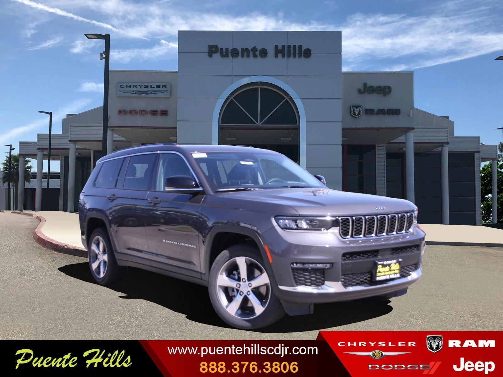 2021 Jeep Grand Cherokee L Limited Limited 4x2 Regular Unleaded V-6 3.6 L/220 [11]