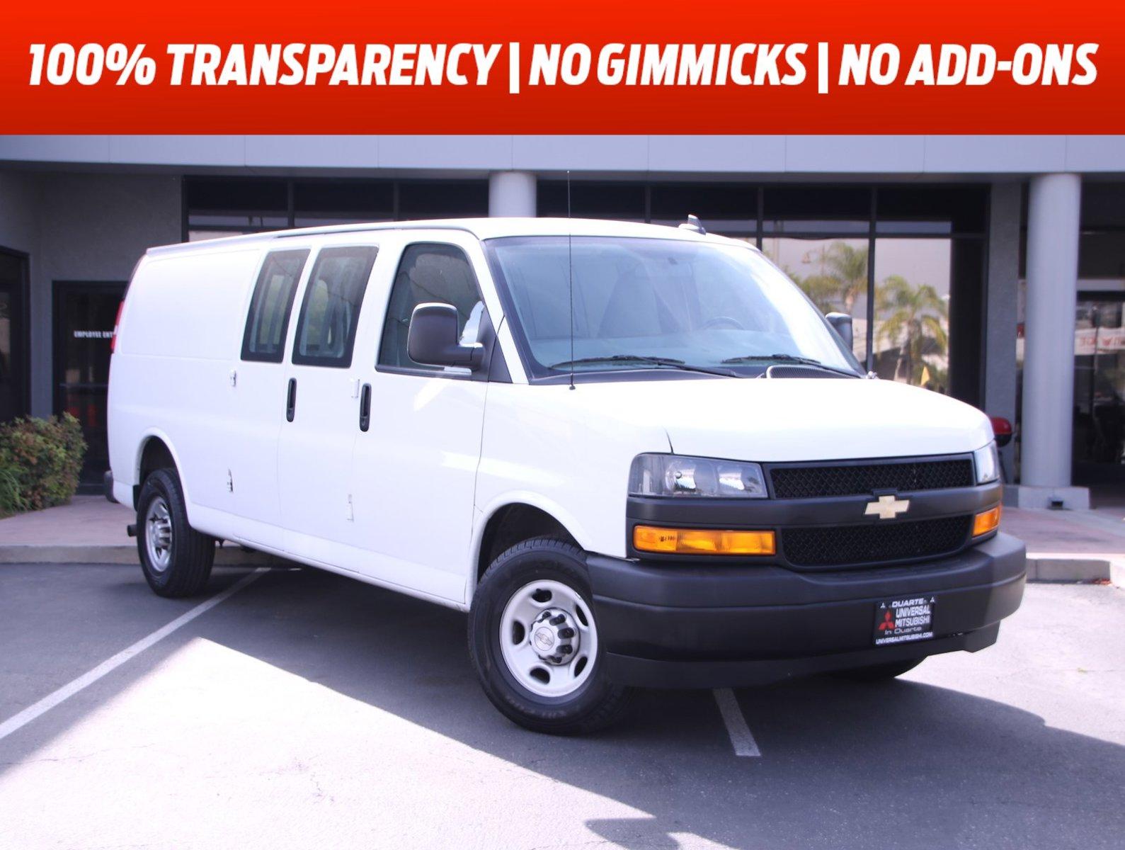 "2020 Chevrolet Express Cargo Van RWD 2500 155"" Gas/Ethanol V8 6.0L/364 [12]"