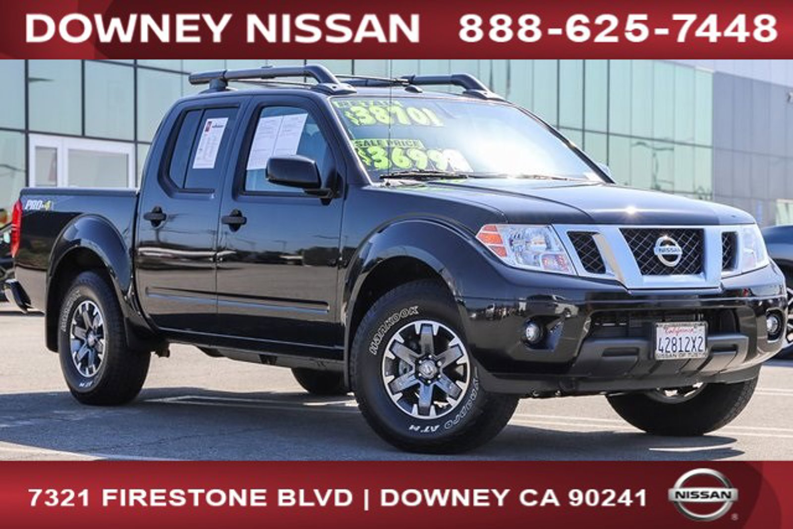 2019 Nissan Frontier PRO-4X  Regular Unleaded V-6 4.0 L/241 [34]