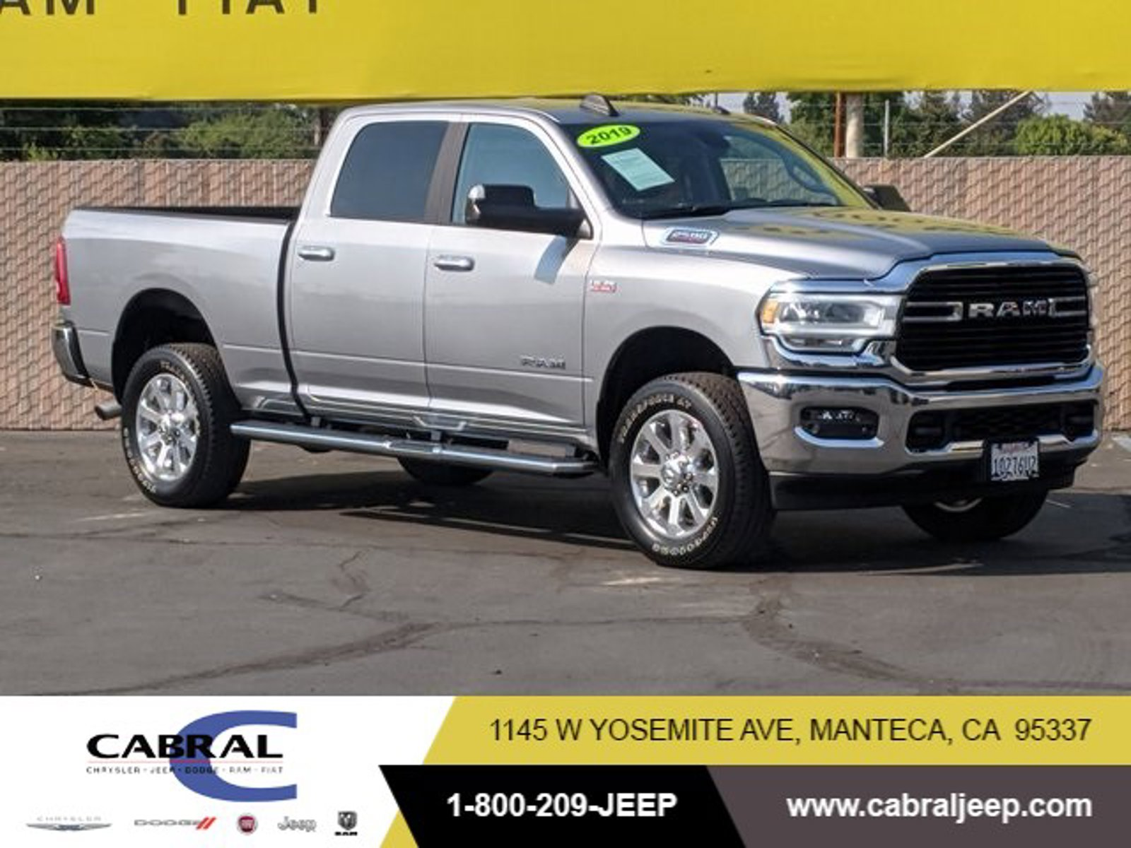 2019 Ram 2500 Big Horn Big Horn 4x4 Crew Cab 6'4″ Box Premium Unleaded V-8 6.4 L/392 [2]