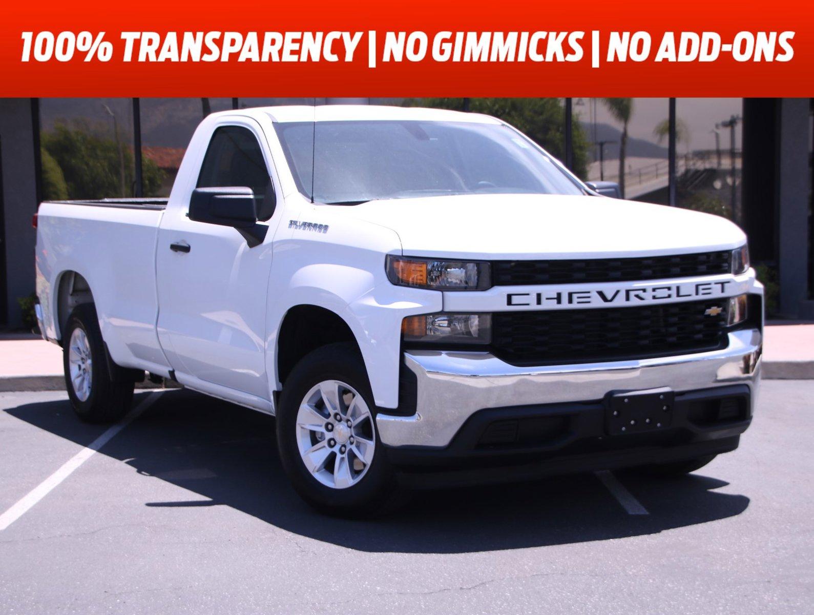 """2020 Chevrolet Silverado 1500 Work Truck 2WD Reg Cab 140"""" Work Truck Gas V8 5.3L/325 [7]"""