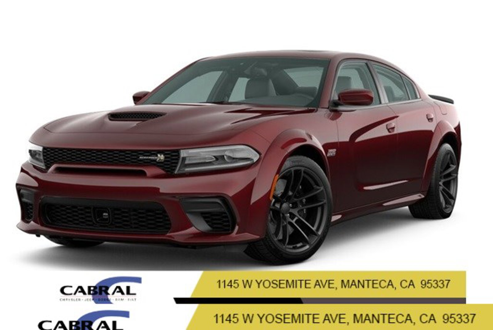 2020 Dodge Charger Scat Pack Widebody Scat Pack Widebody RWD Premium Unleaded V-8 6.4 L/392 [8]