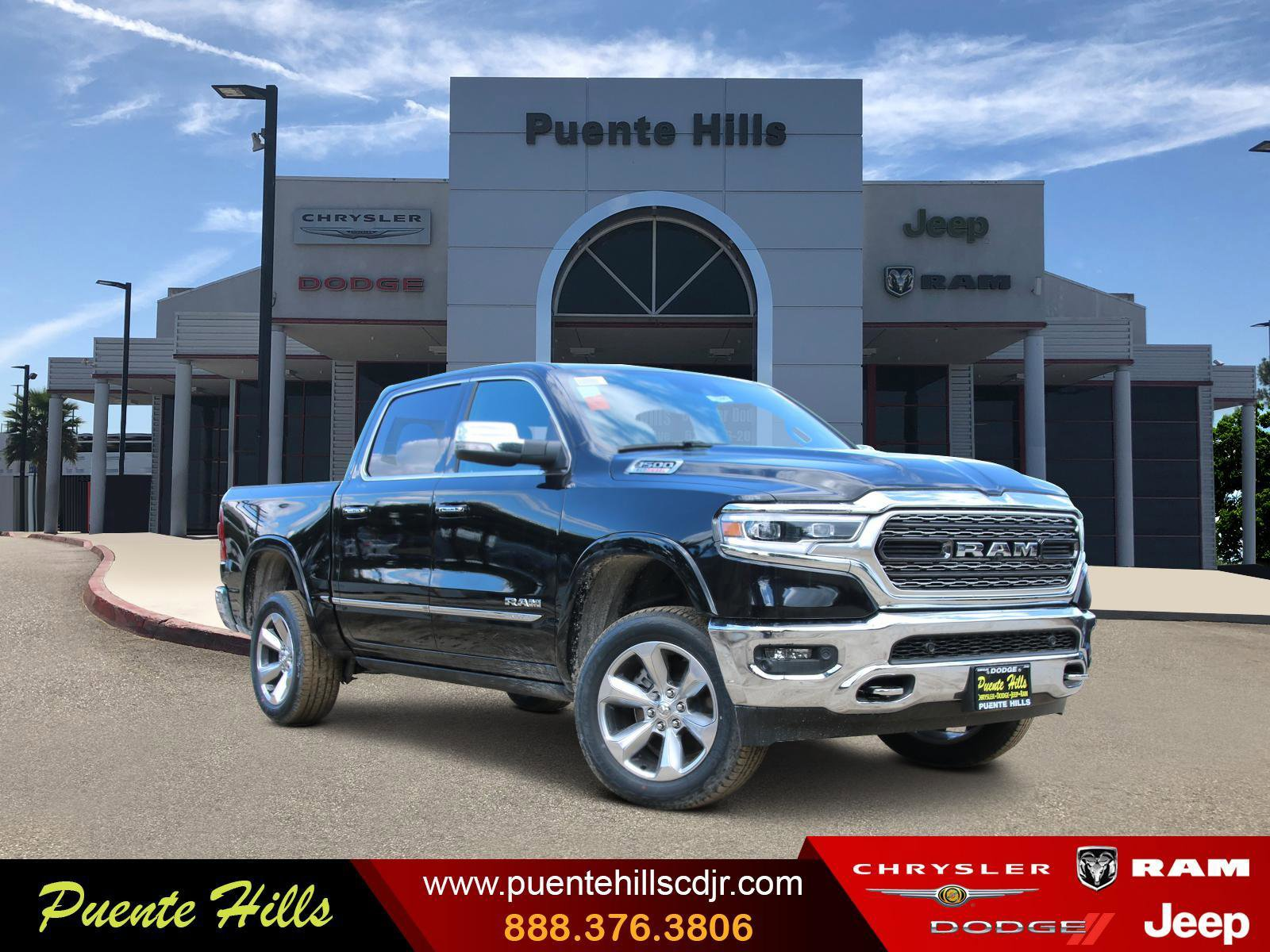 2020 Ram 1500 Limited Limited 4x2 Crew Cab 5'7″ Box Intercooled Turbo Diesel V-6 3.0 L/182 [0]