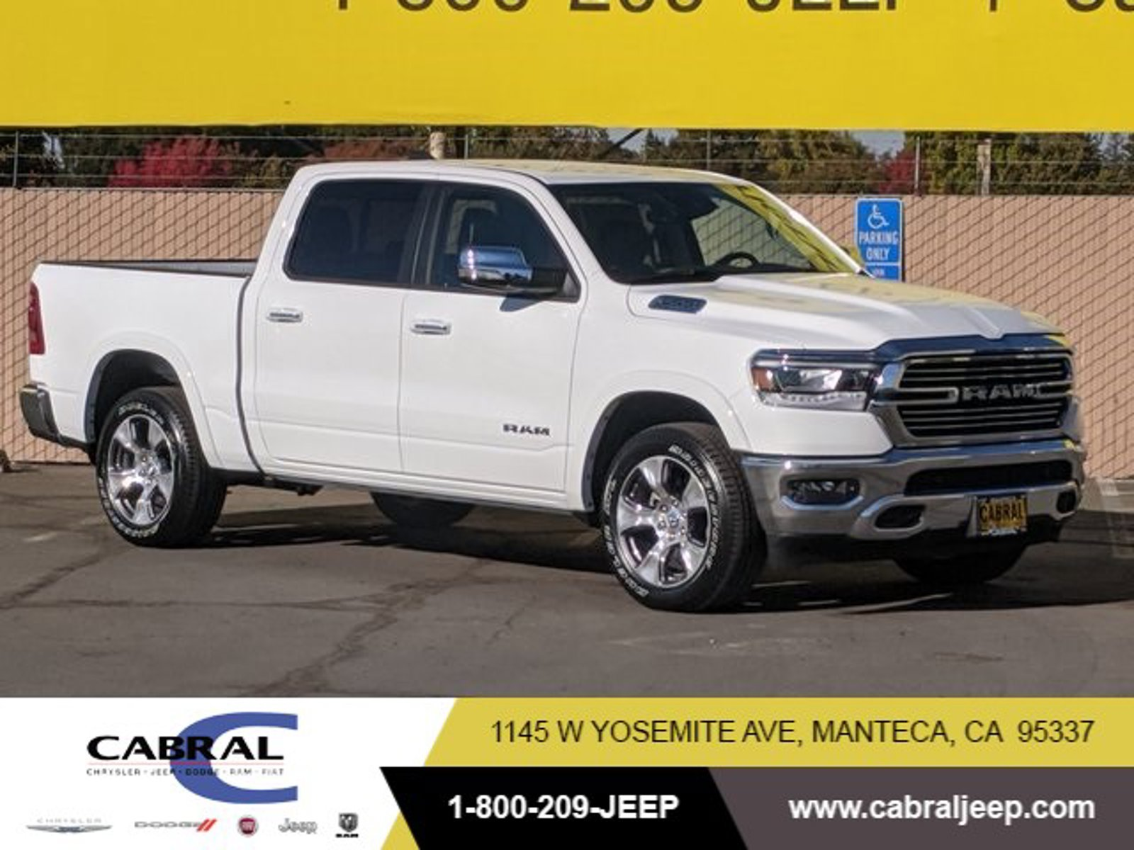 2021 Ram 1500 Laramie Laramie 4x2 Crew Cab 5'7″ Box Regular Unleaded V-8 5.7 L/345 [11]