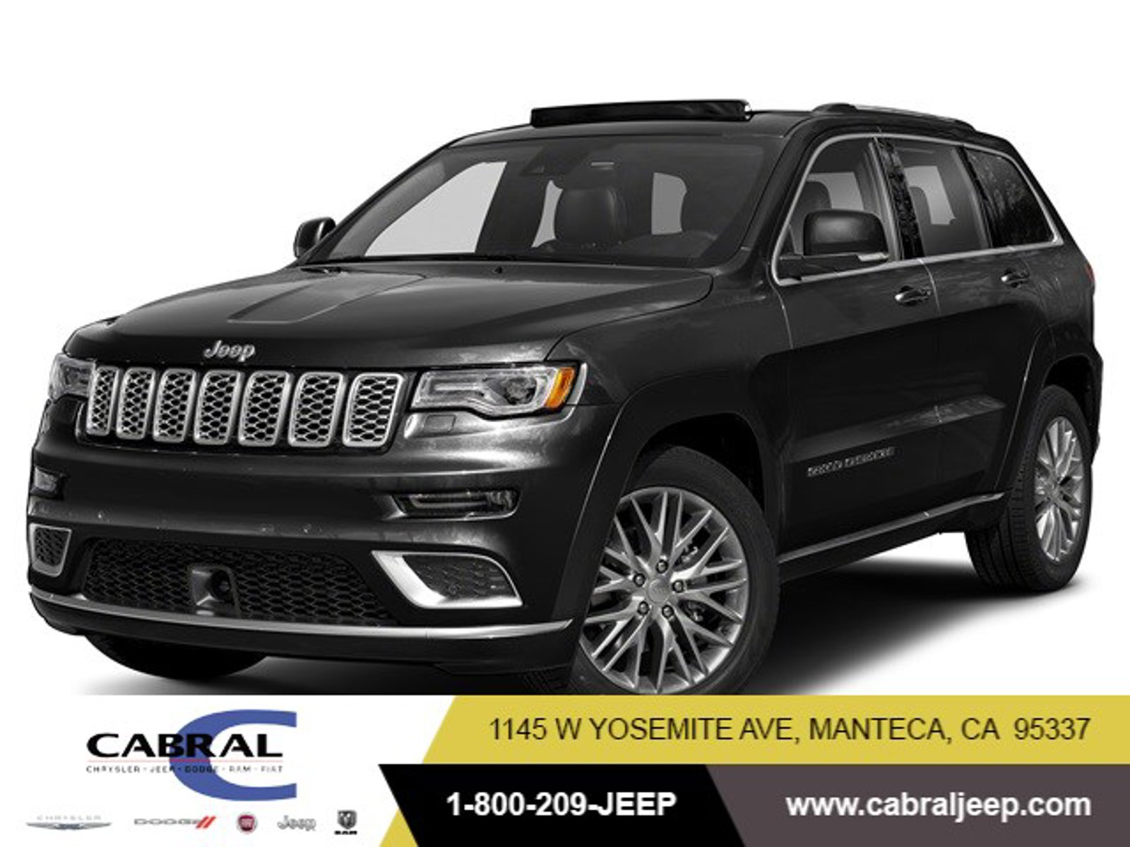 2020 Jeep Grand Cherokee Summit Summit 4x4 Regular Unleaded V-8 5.7 L/345 [4]