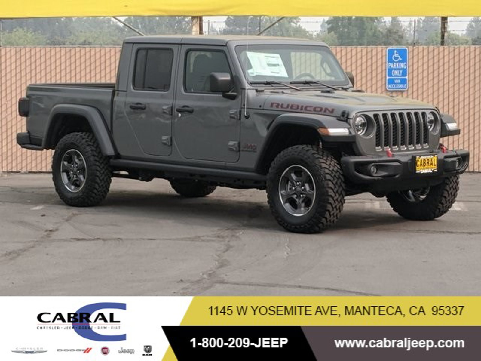 2020 Jeep Gladiator Rubicon Rubicon 4x4 Regular Unleaded V-6 3.6 L/220 [11]