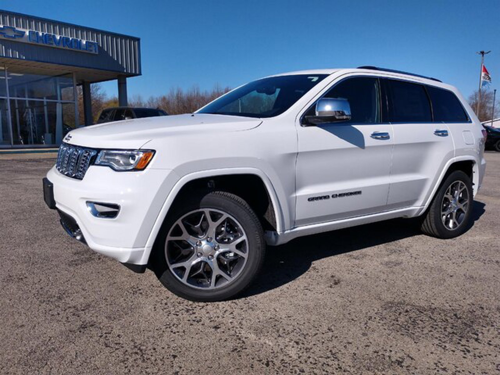 2021 Jeep Grand Cherokee Overland Overland 4x4 Regular Unleaded V-6 3.6 L/220 [15]