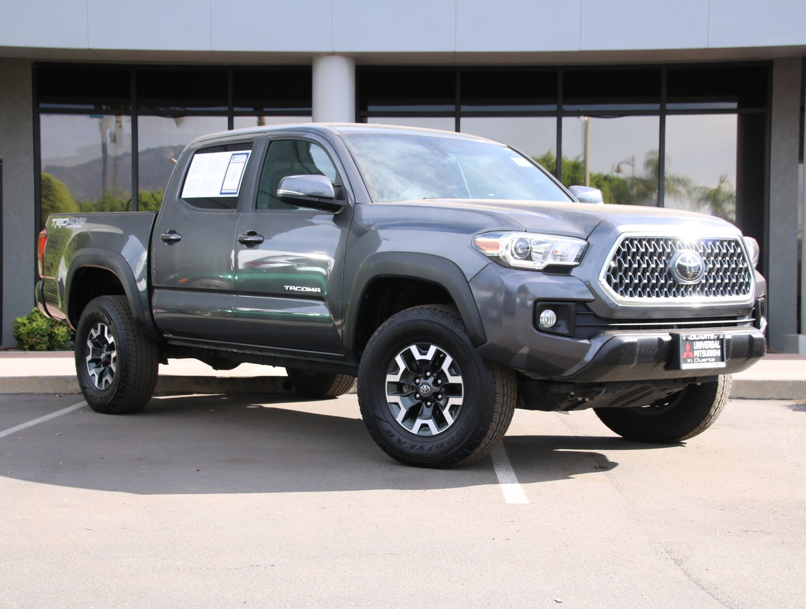 2019 Toyota Tacoma 4WD TRD Off Road TRD Off Road Double Cab 5′ Bed V6 AT Regular Unleaded V-6 3.5 L/211 [1]