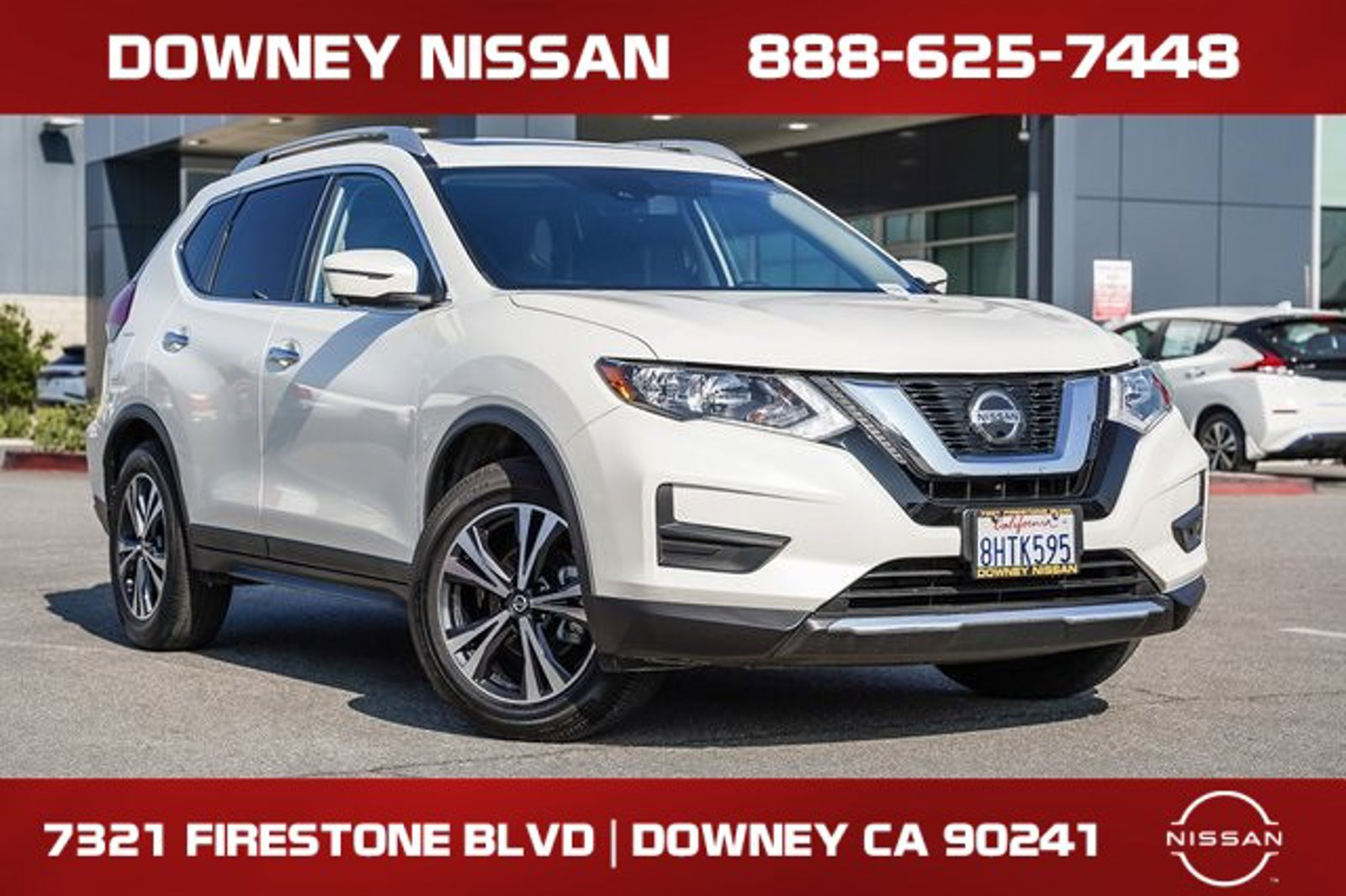 2019 Nissan Rogue SV FWD SV Regular Unleaded I-4 2.5 L/152 [3]