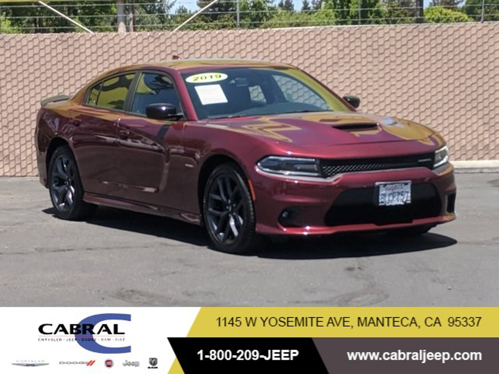 2019 Dodge Charger R/T R/T RWD Regular Unleaded V-8 5.7 L/345 [9]