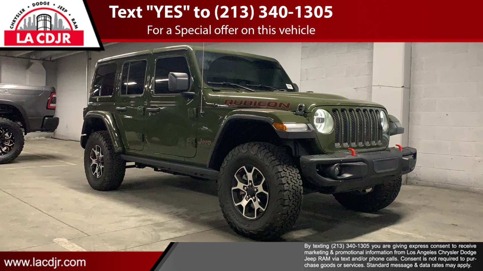 2020 Jeep Wrangler Unlimited Rubicon Rubicon 4x4 Intercooled Turbo Diesel V-6 3.0 L/182 [1]