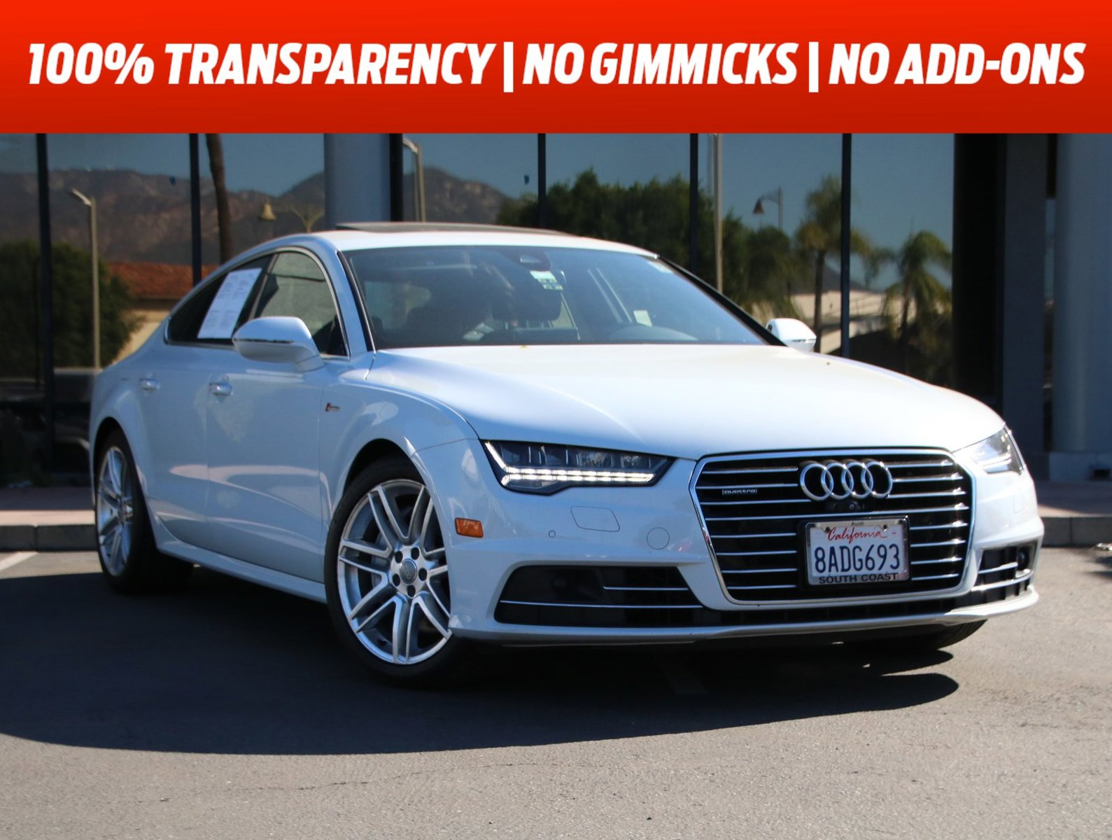 2017 Audi A7 Premium Plus 3.0 TFSI Premium Plus Intercooled Supercharger Premium Unleaded V-6 3.0 L/183 [13]