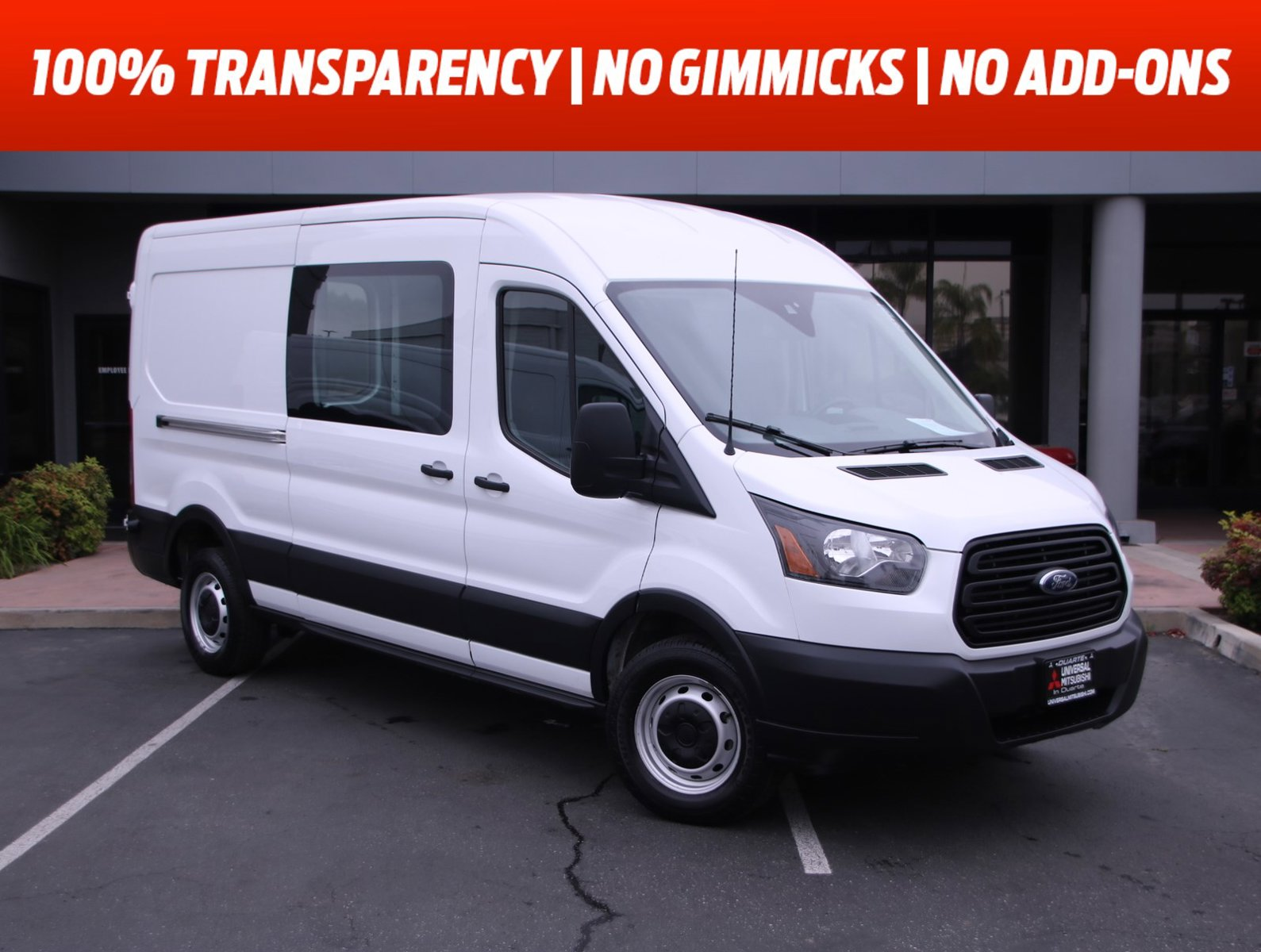 "2019 Ford Transit Van T-250 148"" Med Rf 9000 GVWR Sliding RH Dr Regular Unleaded V-6 3.7 L/228 [3]"