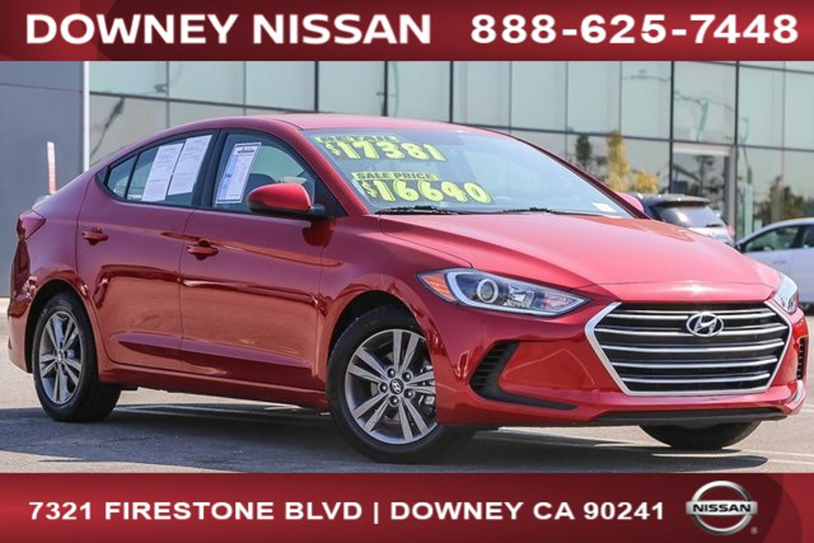 2018 Hyundai Elantra SEL SEL 2.0L Auto (Alabama) Regular Unleaded I-4 2.0 L/122 [4]