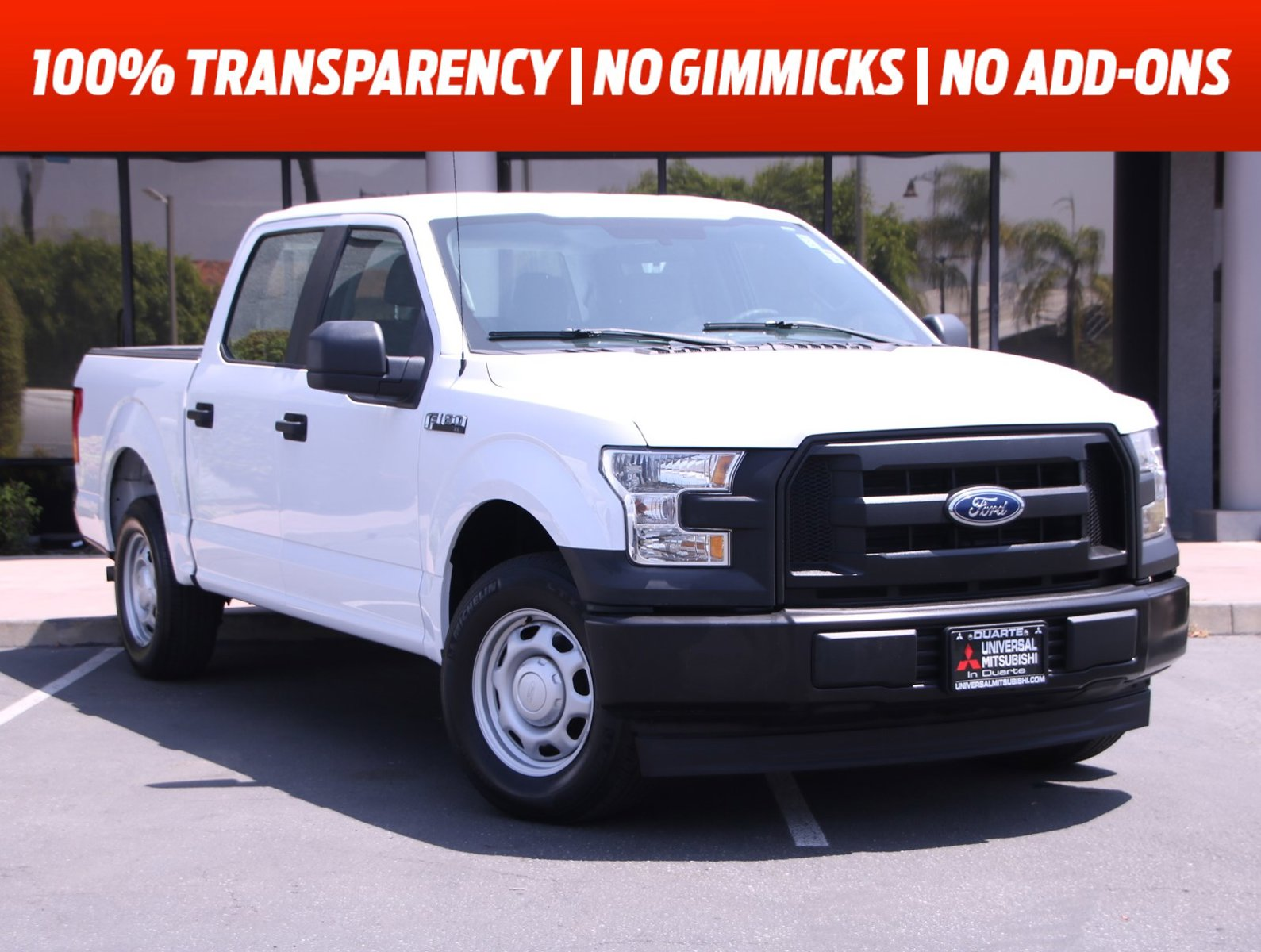 2017 Ford F-150 XL XL 2WD SuperCrew 5.5' Box Regular Unleaded V6 3.5 L EcoBoost [10]