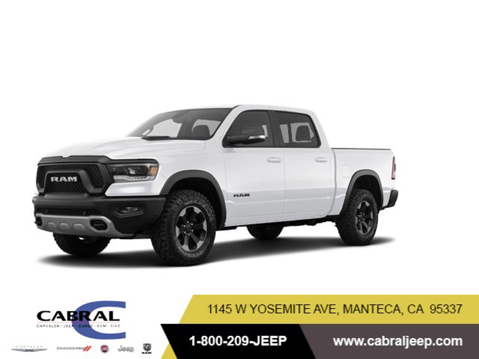 2020 Ram 1500 Rebel Rebel 4x4 Crew Cab 5'7″ Box Regular Unleaded V-8 5.7 L/345 [3]