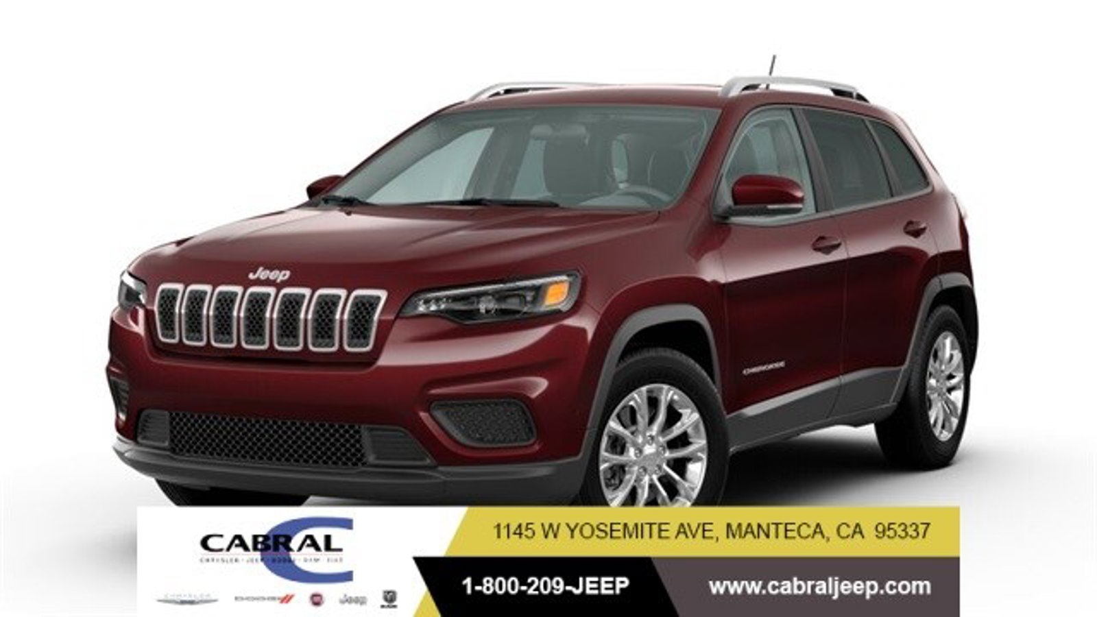 2020 Jeep Cherokee Latitude Latitude 4x4 Regular Unleaded I-4 2.4 L/144 [1]