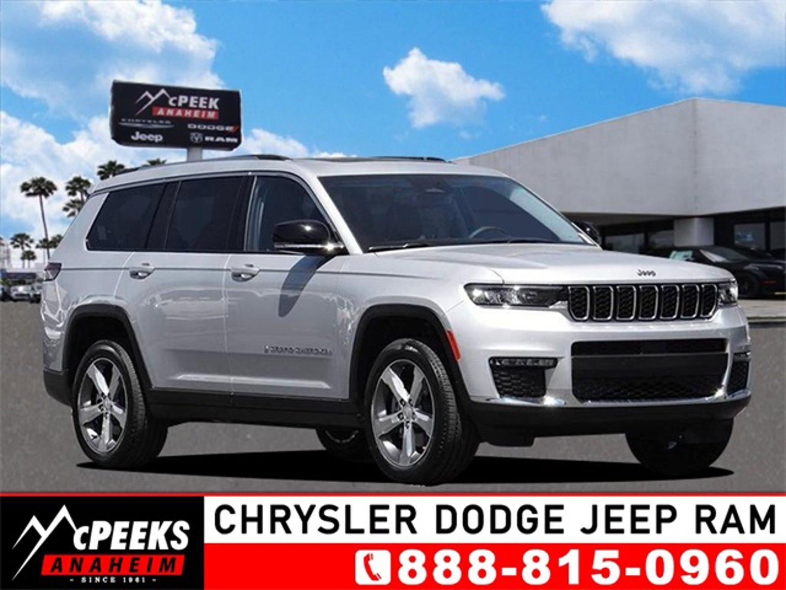 2021 Jeep Grand Cherokee L Limited Limited 4x2 Regular Unleaded V-6 3.6 L/220 [9]