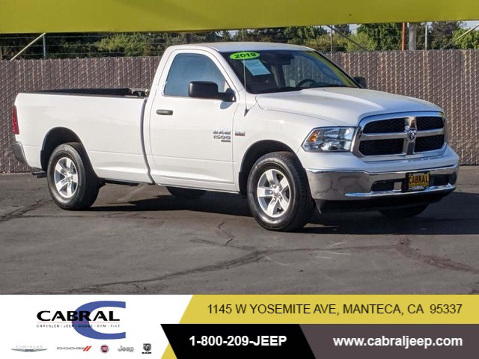 2019 Ram 1500 Classic Tradesman Tradesman 4x2 Reg Cab 8′ Box Regular Unleaded V-8 5.7 L/345 [0]