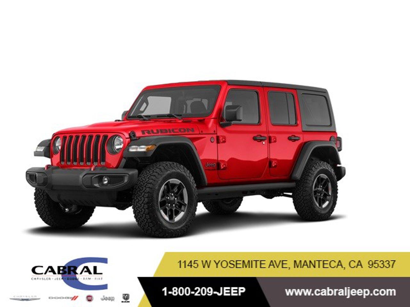 2019 Jeep Wrangler Unlimited Rubicon Rubicon 4x4 Regular Unleaded V-6 3.6 L/220 [4]