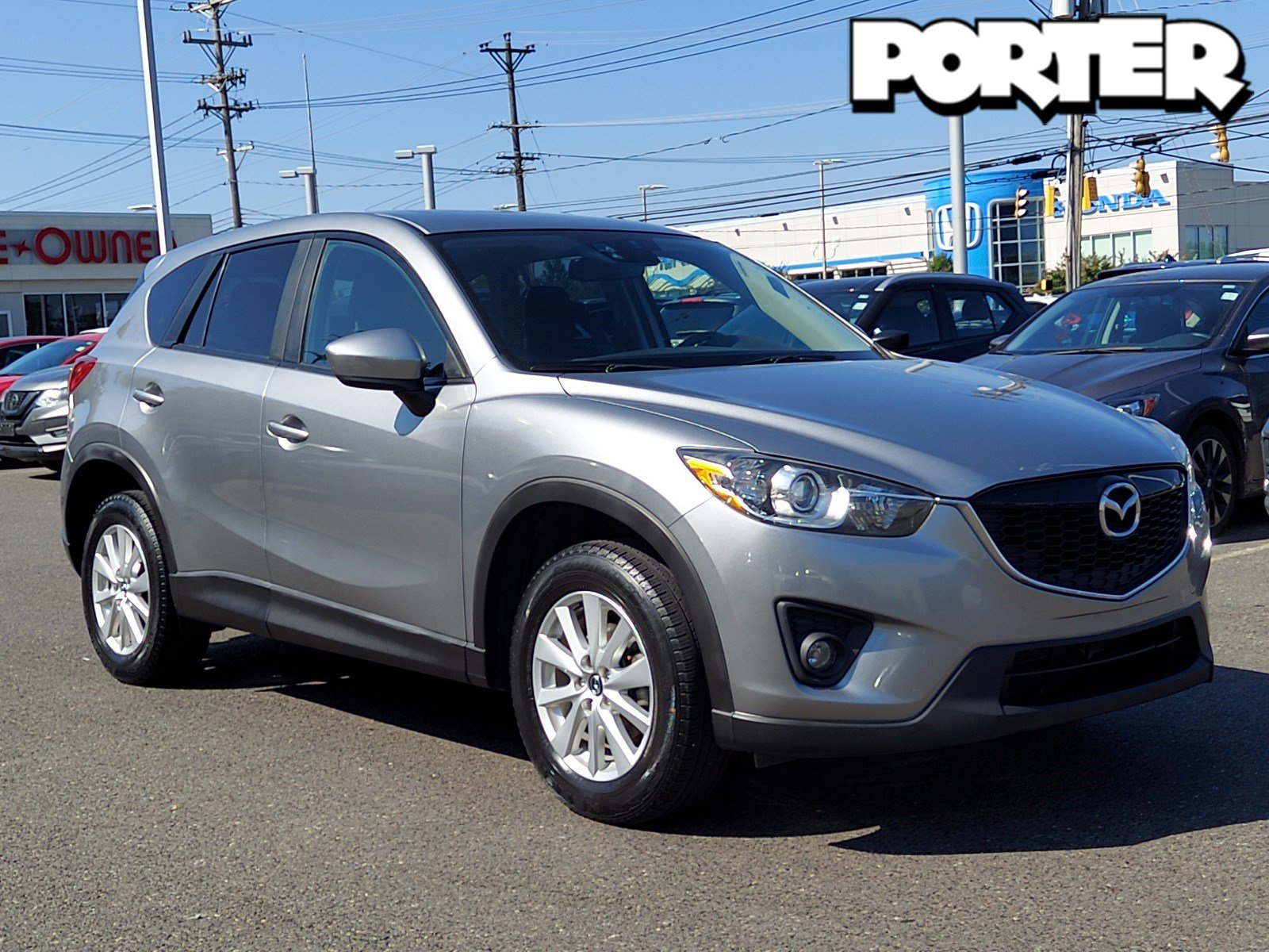 2014 Mazda CX-5 Touring AWD 4dr Auto Touring Regular Unleaded I-4 2.5 L/152 [7]