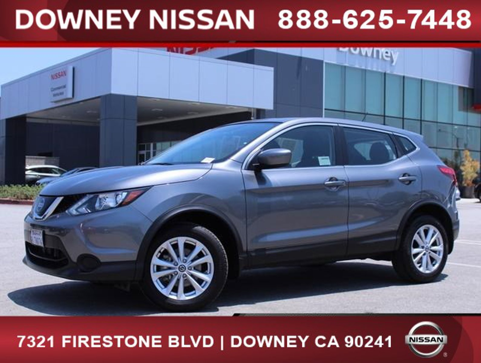 2019 Nissan Rogue Sport S FWD S Regular Unleaded I-4 2.0 L/122 [0]