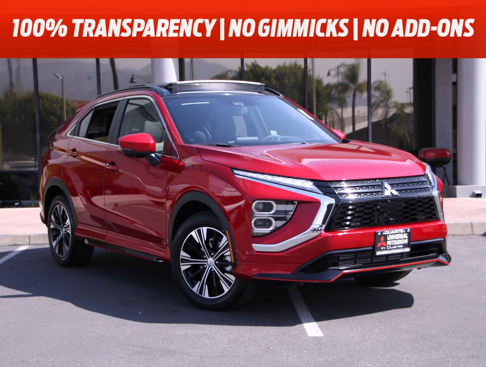 2022 Mitsubishi Eclipse Cross SEL SEL FWD Intercooled Turbo Regular Unleaded I-4 1.5 L/91 [8]