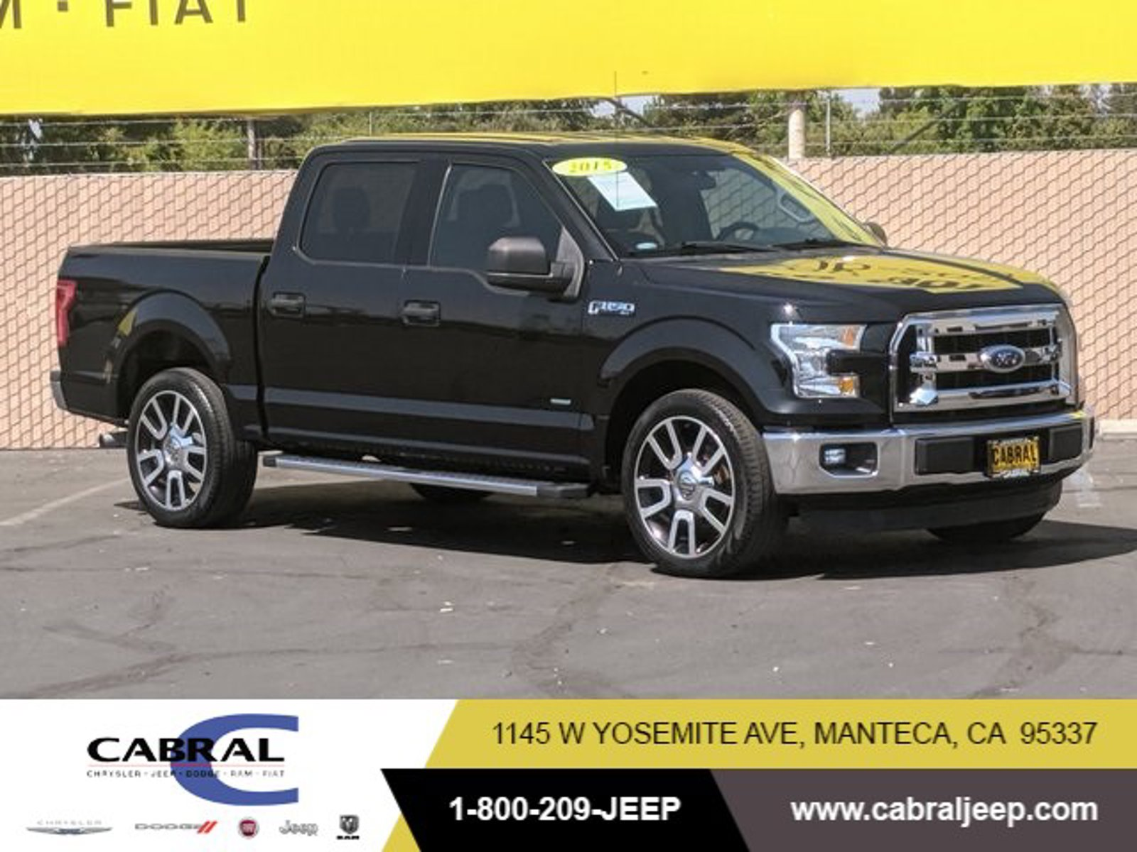2015 Ford F-150  Twin Turbo Regular Unleaded V-6 3.5 L/213 [0]