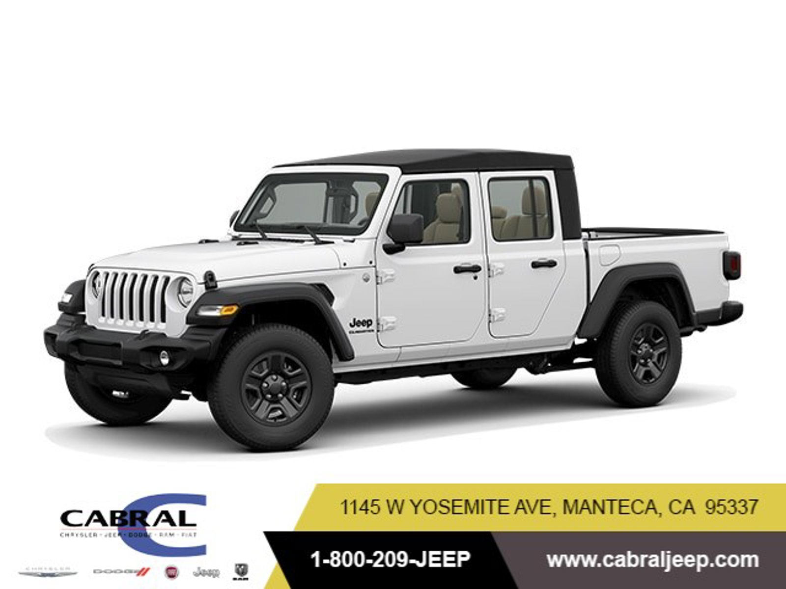 2020 Jeep Gladiator Sport S Sport S 4x4 Regular Unleaded V-6 3.6 L/220 [1]