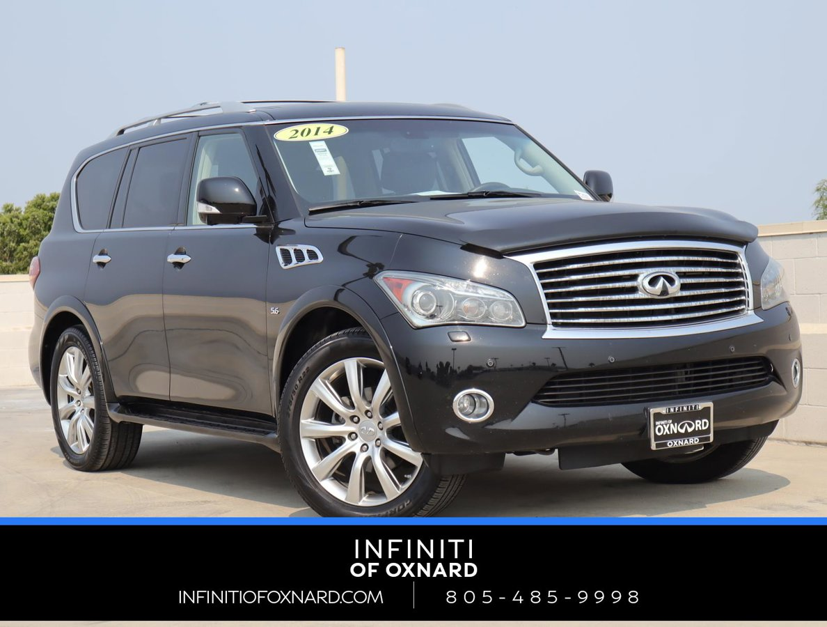 2014 INFINITI QX80 SUV 4WD 4dr Premium Unleaded V-8 5.6 L/339 [8]