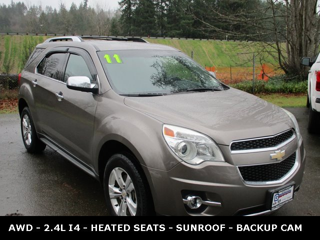 Used 2011 Chevrolet Equinox AWD 4dr LTZ